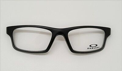 Oakley 8037 Crosslink Pitch 54 Satin Black Frontale Front Eyewear Nero Satinato