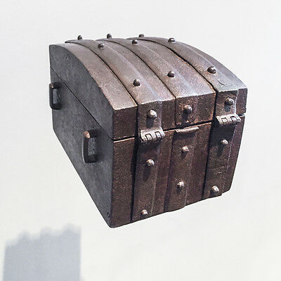 16th Century Missal Box Coffer with Trick Keyhole Covers SEE VIDEO
