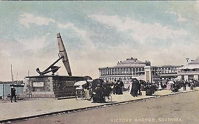 """PPC of """" Victory Anchor , Southsea """"  unused card"""