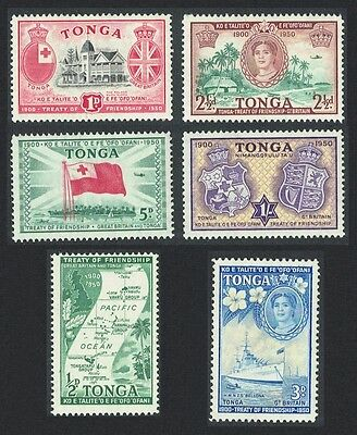 Tonga 50th Anniversary of Treaty of Friendship with Great Britain  6v SG#95/100
