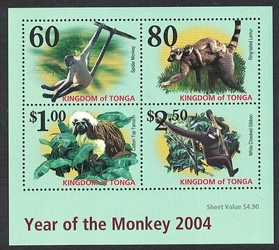 Tonga Year of the Monkey MS SG#MS1593