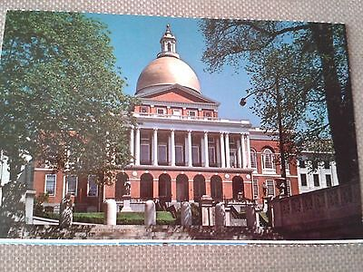 Vintage Postcard - The State House, Boston, Massachusetts (unposted)