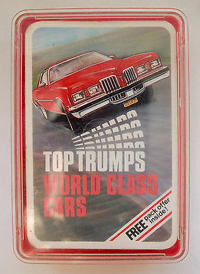 Dubreq Top Trumps - World Class Cars 1970's Complete