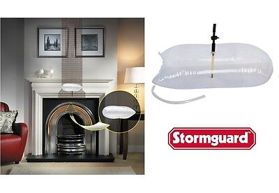 Stormguard Universal Chimney Draught Excluder - Fireplace / Chimney Balloon