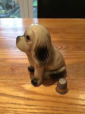 Vintage Ceramic Dog With China Makers Stamp