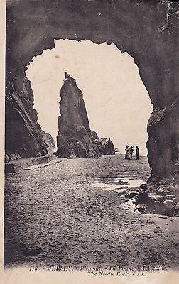 """RPPC of """" The Needle Rock , Jersey """"  posted 1923"""