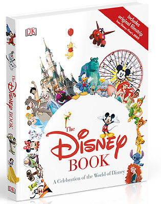 The Disney Book - A Celebration Of The World Of Disney, Hard Back, NEW