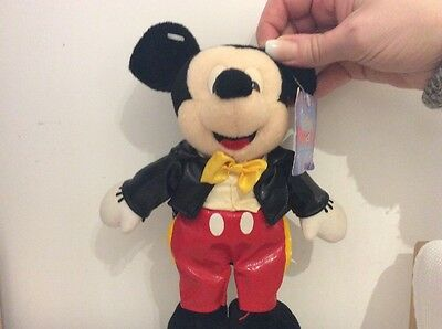 REAR Mikey Mouse Plush In Suit