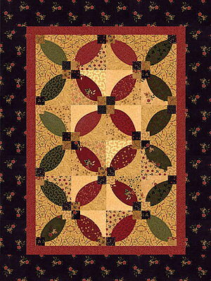 FROM THE HEART QUILT KIT - Pattern + Moda Fabric by Kansas Troubles Quilters Inc
