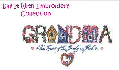 Say It With Embroidery - Machine Embroidery Designs On Cd