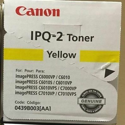 Canon 0439B003AA (IPQ-2) Yellow Toner  Cartridge C6000VP C7000VP