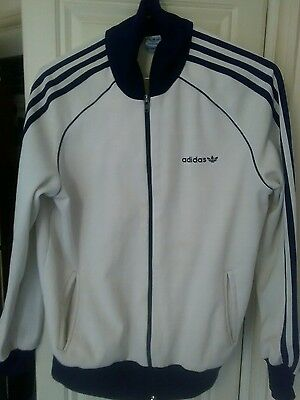 Adidas tracksuit top size small
