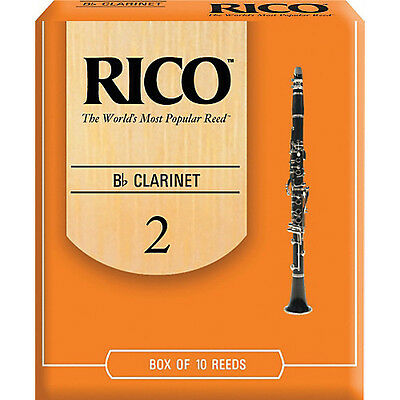 RICO Bb CLARINET REED - SINGLE (Free postage for any additional)