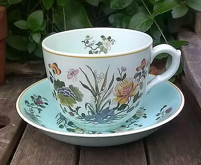 Calyx Ware Adams Ming Jade Large Ornamental Cup And Saucer