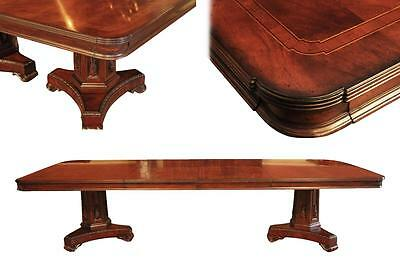 Mahogany Conference Table or Dining Room Table for Sensitive Budgets sits 12
