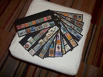 Nice selection of New Zealand Stamps, Used, Different Periods Health, Official