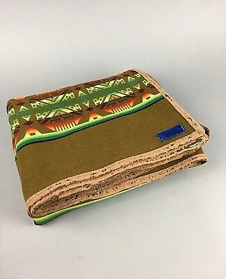 Antique c.1915 Pendleton Wool Indian Trade Beaver State Saddle Blanket Tribal