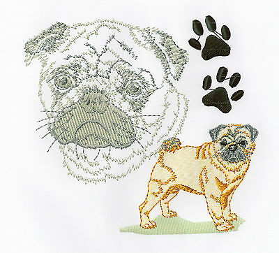 Paw Portraits Collection 2 - Machine Embroidery Designs On Cd