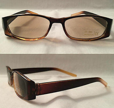 Brown Sun Reading Glasses Ready Readers Tinted LOTS more in shop +2.00 +2.0 +2 S