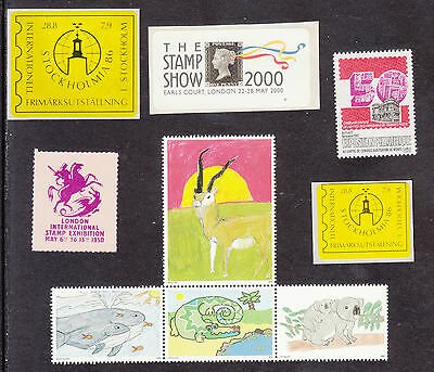 Gb-Stamp Exhibition Stamps/labels--Nhm