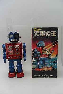 Rare Apollo 2000 Robot Battery Operated S.H. Horikawa Made in Japan 1960's Box
