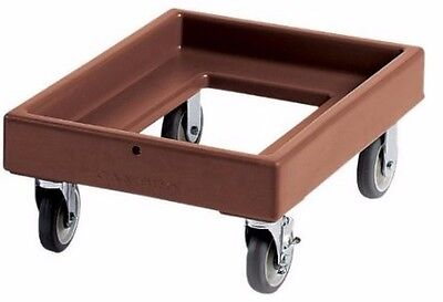 Food Carrier Dolly, Dark Brown, 300 lbs. capacity, Cambro CD300131