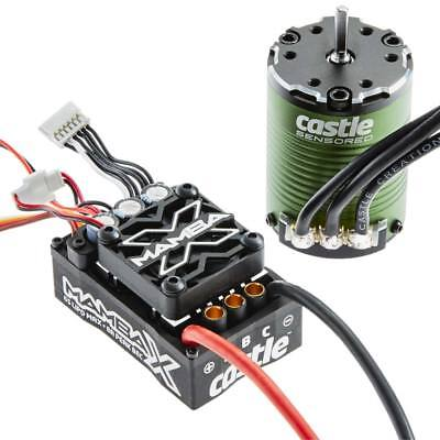 NEW Castle Creations Mamba X 25.2 WP ESC/1406-5700kV Motor 010-0155-02