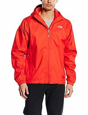 Red/Fiery Red (TG. XL) The North Face Quest - Giacca hardshell, da uomo, uomo, Q