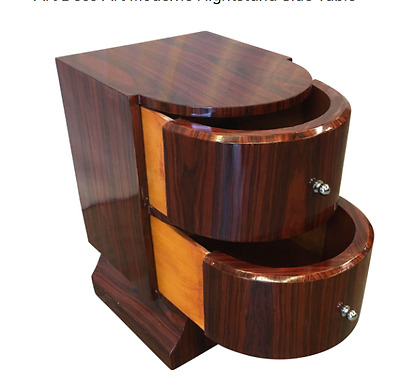 Art Deco Art Moderne Nightstand Side Table