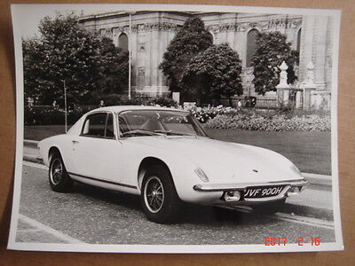 LOTUS  + 2  S   original press photo  ca.1970.