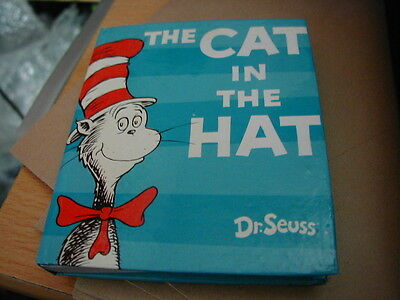 Dr Seuss Cat In The Hat Small Notebook & Pencil Brand New