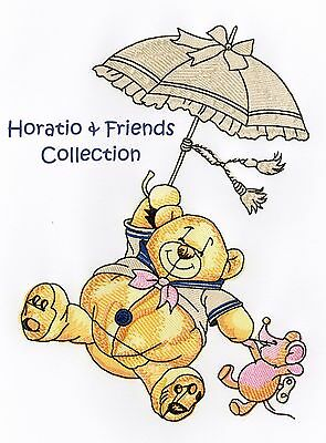 Horatio & Friends Collection- Machine Embroidery Designs On Cd