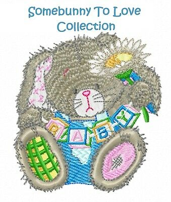 Somebunny To Love Collection - Machine Embroidery Designs On Cd