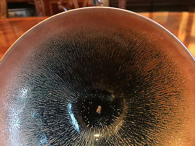 """An Excellent Chinese Antique Jian """"Hare's Fur"""" Bowl."""