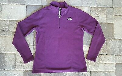 Girls North Face Xl jacket fleece purple xlarge purple zip up
