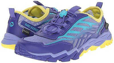 Merrell Hydro Run Water Shoes - Youth Girls Size 12 Wide - Purple, Blue & Yellow