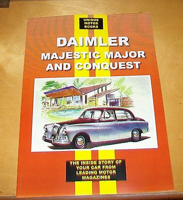 Daimler Majestic Major & Conquest Road Test Reprint Book + Service Data Century