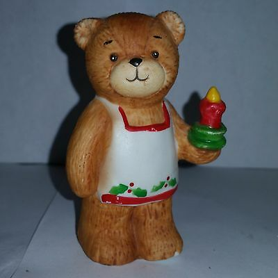 Lucy & me Chrismas Aprin Candle Rigglets 1979 Rigg Enesco