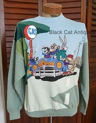 Official Limited Edition Looney Tunes Sweater New with Tags size Large Italy