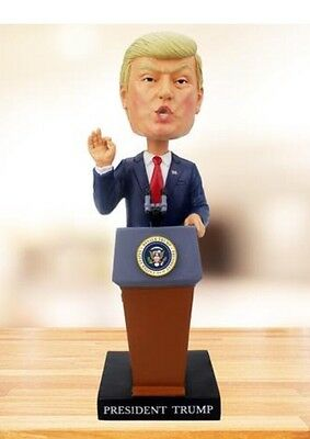 2016 Election Donald Trump President Bobblehead Doll Inaugural Podium