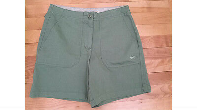 Fox Golf Women's Green Casual Shorts Womens Size 6 Small