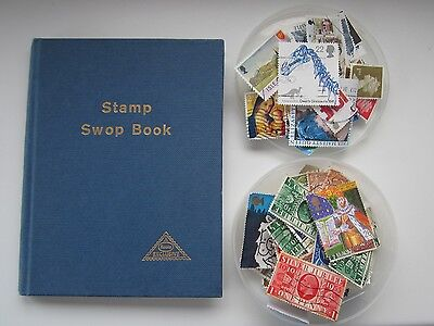 65 Gb Regional Stamps In Pocket-Size Swop/stock Book & 100+ Mixed Gb Stamps