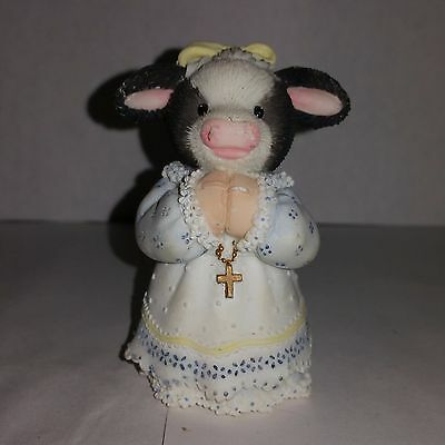 Mary's Moo Moos Bless moo on this day Cow Enesco playing religious