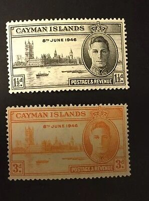 Cayman Islands 1946 KGVI Victory Omnibus Set  MM