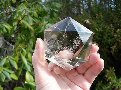 Smoky-Citrine Quartz 6 Sided Star of David+Happiness-Grounding Protective Energy
