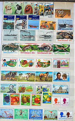 Great Collection of Mounted Mint New Zealand Stamps.