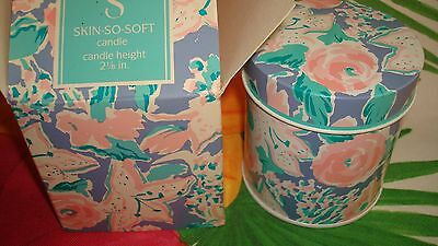 """Avon Vtg. Authentic Sss Original Fragrance Candle Height 2 1/8""""*rare*in Tin Box*"""