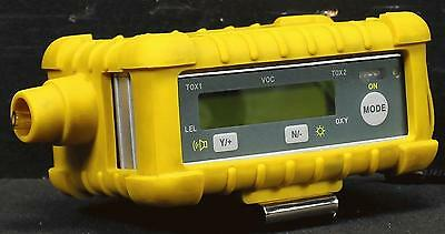 RAE Systems PGM50-5P Multiple Gas Detector w/Protective Rubber Case