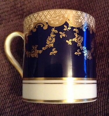 Vintage Crown Staffordshire Fine China Coffee Can