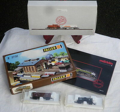Marklin Mini-Club starter set, complete w/manuals, brochures